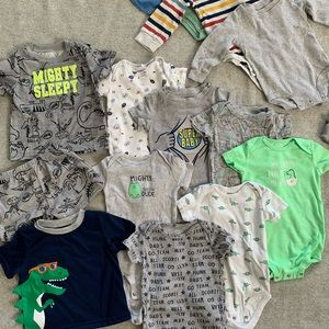 14 Piece - Boys 12 Month One Piece Lot, Carter's